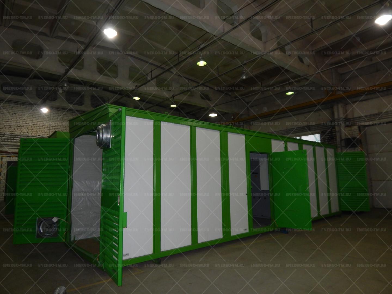 """Комплектный трансформаторные подстанции наружной установки утепленные панелями типа """"сэндвич"""" (КТПНУ)"""